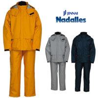 ジンナイ(Nadalles) ナダレス 高次元透湿防水 テトラテックスーツ[上下セット]【5000】レインウェア